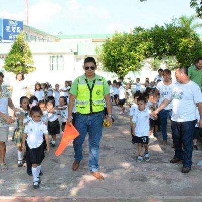 Realizan simulacro de sismo en Chetumal en el marco de la Semana Nacional de Protección Civil