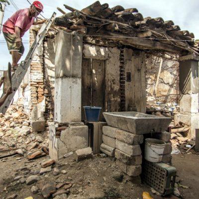 Cumplen damnificados del sismo en Chiapas un año de abandono de autoridades federales y estatales