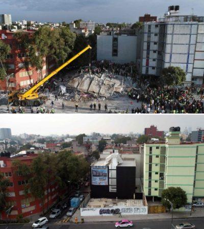 Primer aniversario del terremoto en México: el antes y después del 19 de septiembre de 2017