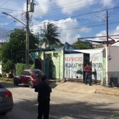 Se suicida un hombre en taller de hojalatería y pintura en la Región 219