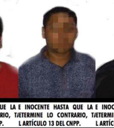 Detienen a tres personas con drogas en Playa del Carmen
