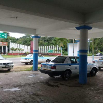Continúa la 'guerra sucia' en el sindicato de taxistas de Nuevo Xcán; revelan que dirigente debe cuotas