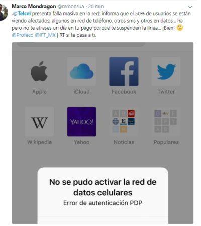 Se cae red de Telcel desde Tulum a Cancún