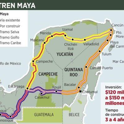 Se apuntan bancos en el Tren Maya; daremos prioridad a empresarios locales, dice Jiménez Pons