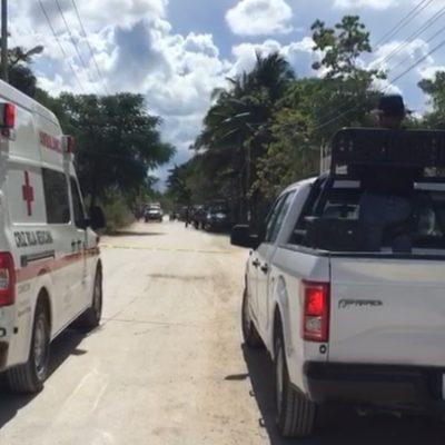 ATAQUE EN LA PERIFERIA DE CANCÚN: Aparece cadáver de un hombre acribillado en la colonia irregular Tres Reyes