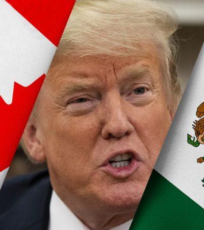 Cómo Trump aprovechó el triunfo de AMLO para dividir a México y Canadá en renegociación del TLCAN