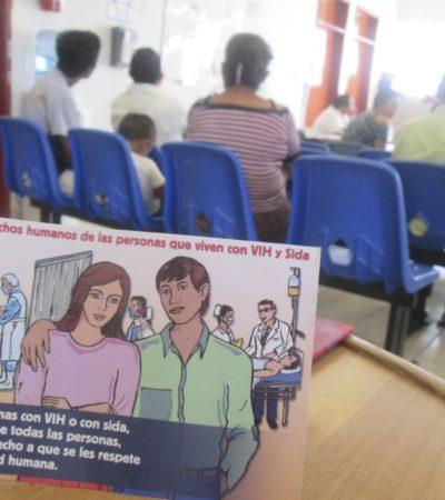 Señalan discriminación a pacientes con VIH en hospitales de Campeche y escasez de medicamentos