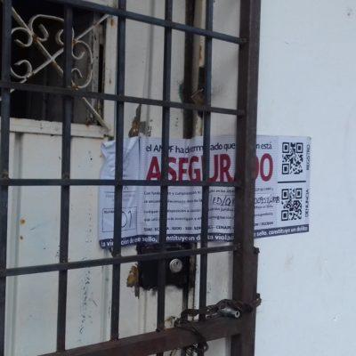 SEGUIMIENTO | Coloca PGR sellos de aseguramiento en vivienda donde fueron rescatados 39 cubanos y fueron detenidas 5 personas en Cancún