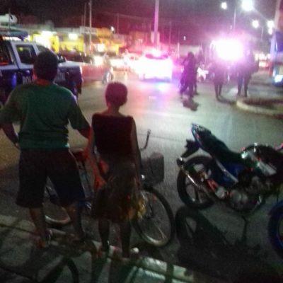 Tras persecución a balazos, policías estatales detienen a dos personas, uno de ellos escolta del director de Tránsito de Cancún