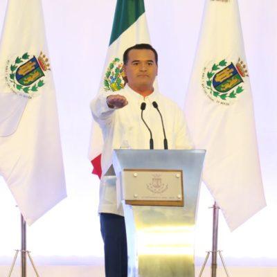 ASUME RENÁN BARRERA POR SEGUNDA VEZ EL MANDO EN MÉRIDA: El Alcalde panista de la capital yucateca arremete contra el PRI y se dice listo para trabajar con López Obrador