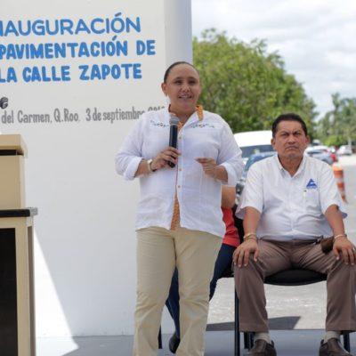 Inauguran tramo de avenida Las Américas en Mundo Hábitat y la calle Zapote en Villamar II en Playa del Carmen