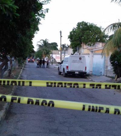SEGUNDA EJECUCIÓN DEL MARTES: Matan a balazos a una persona en la Región 75 de Cancún