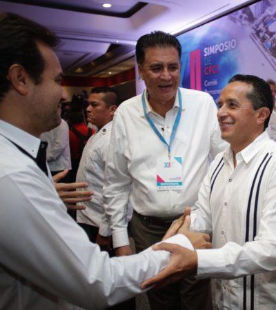 Asiste Pedro Joaquín a Simposio de Catastro en Iberoamérica