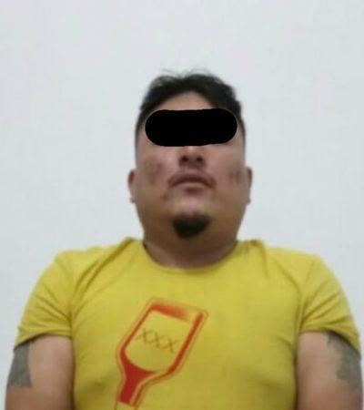 SEGUIMIENTO | CAE 'PEZ GORDO' EN LA 95: Uno de los tres detenidos tras intento de ejecución es señalado como líder de una célula de sicarios en Cancún