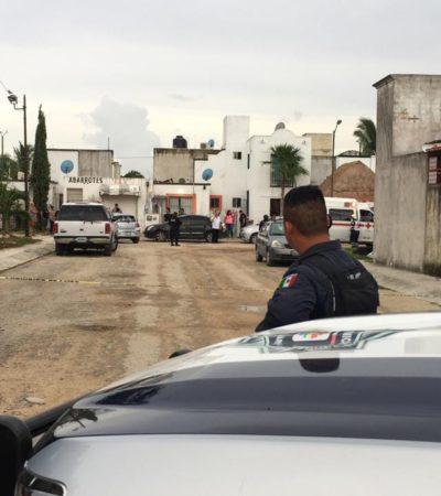 TIROTEAN VIVIENDA EN LA REGIÓN 201: Disparos contra casa de presunto policía en Cancún provoca crisis nerviosa a una mujer; no hubo heridos