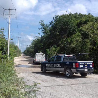 APARECE EJECUTADO EN VALLE VERDE: Amarrado de pies y manos, hallan cadáver en colonia periférica de Cancún