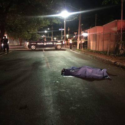 EJECUTADA A BALAZOS EN EL CENTRO DE PLAYA: Un mujer recibe dos disparos, alcanza a subir a un taxi para escapar, pero muere y el chofer trata de deshacerse del cuerpo arrastrándolo por dos cuadras