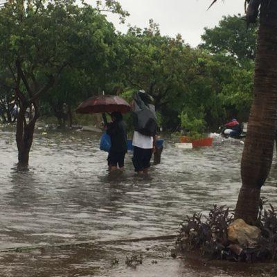 EL CUENTO DE NO ACABAR: Por segundo día consecutivo, lluvias sacan a flote las deficiencias de Cancún