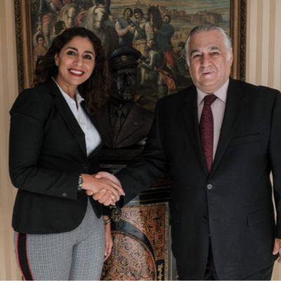 SE REÚNE MARYBEL VILLEGAS CON TORRUCO: Asegura Senadora que AMLO da prioridad al tema de Turismo en el país, principalmente en Quintana Roo
