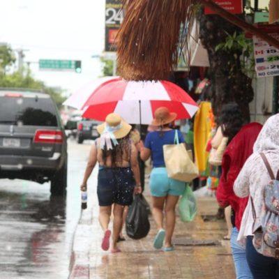 Lluvias en Playa del Carmen causan ausentismo escolar y problemas de transporte