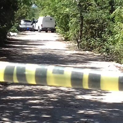 DOBLE EJECUCIÓN EN CANCÚN: Maniatados y baleados, hallan cuerpos de dos personas por la prolongación de la avenida La Luna