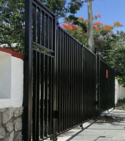 CIERRAN FRACCIONAMIENTOS POR INSEGURIDAD: La Dirección de Desarrollo Urbano de Solidaridad otorgó permisos para controlar el acceso a fraccionamientos y disminuir asaltos y robos
