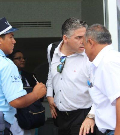 CONTINÚAN DELIBERANDO FUTURO DE AGUAKAN: Dice Carlos Joaquín que se está realizando una 'revisión profunda' del funcionamiento de la empresa concesionaria del servicio de agua potable en el norte de QR