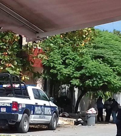 EJECUTADO EN LA 510: Matan a balazos a un hombre en plena calle en Cancún