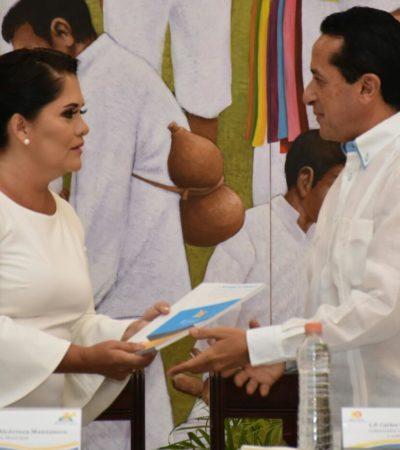 INFORME EN CHETUMAL: Con la ausencia de líderes empresariales y sociales, presenta Alcaldesa interina de OPB resumen de actividades