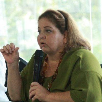 Asegura Marisol Vanegas que Sedetur realiza una contención mediática por el tema del sargazo; acusa que medios usan fotografías atrasadas y generan complicaciones