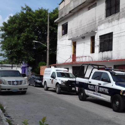 Reportan hallazgo de un cadáver en una cuartería de la SM 63 en Cancún