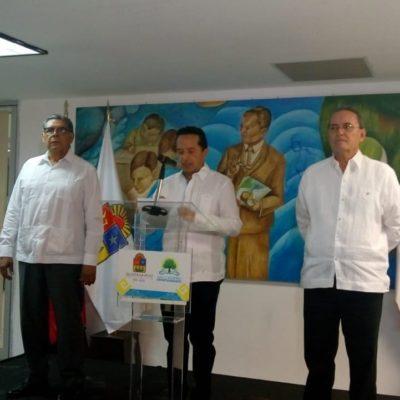 NOMBRAN A FISCAL INTERINO: Designa Gobernador Gustavo Salas Salgado como sustituto de Miguel Ángel Pech Cen, tras su renuncia