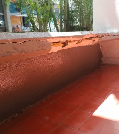 Recibe Pedro Joaquín Delbouis en Cozumel un Palacio Municipal deteriorado con mobiliario y parque vehicular en mal estado
