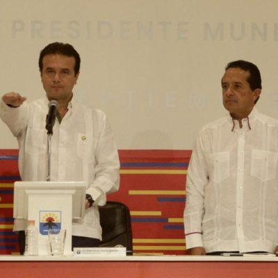 CAMBIO DE MANDO EN COZUMEL: Pide Pedro Joaquín trabajo conjunto para rescatar a la isla