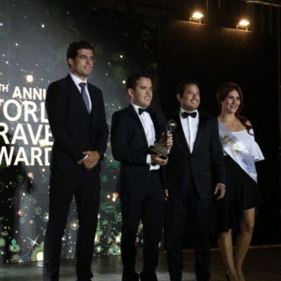 Quintana Roo arrasa en los World Travel Awards; el Caribe mexicano obtuvo 14 premios de 37 categorías