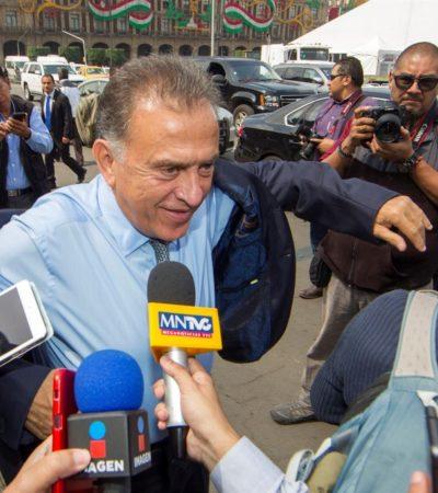 Pasará Duarte muchos años en la cárcel asegura Yunes; en Veracruz tiene aún pendiente un proceso por desaparición forzada