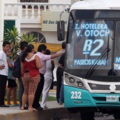 La mayoría de usuarios del transporte público en Cancún califican el servicio como 'malo', según encuestas de Morena