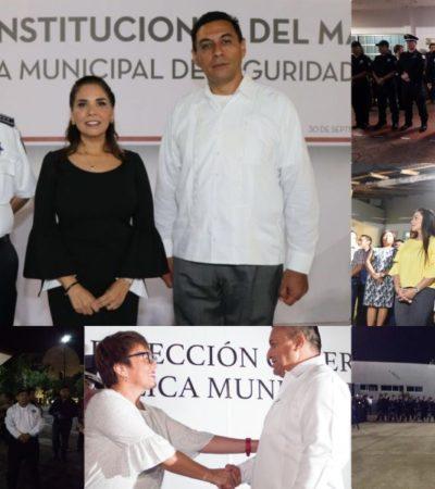 CAMBIAN MANDOS POLICIACOS EN MUNICIPIOS: Empiezan Alcaldes a tomar el control con el nombramiento de directores de Seguridad Pública