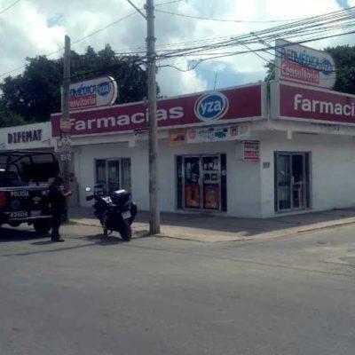 Asalto armado contra farmacia de Playa