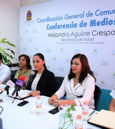 Para ampliar información del segundo informe de Carlos Joaquín, comparecerán secretarios… ante medios