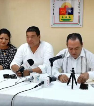 """""""Algunos secretarios del gabinete de Carlos Joaquín han sobresalido más que otros, pero será él quien decida si debe realizar cambios"""", dicen diputados del PAN"""