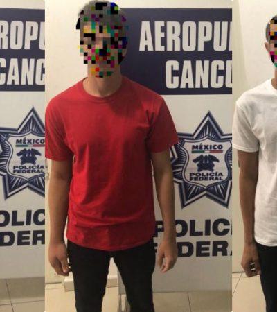 Detienen en el aeropuerto de Cancún a tres cubanos con licencias de conducir falsas; pretendían volar a Reynosa