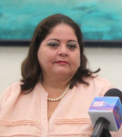 Marisol Vanegas dice que Fonatur debe intervenir y resolver la polémica surgida en torno a la venta de lote junto a playa Delfines