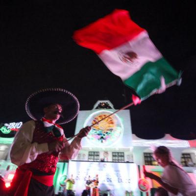 Autoridades anuncian cierre de avenidas en Cancún por festejo del Grito de Independencia; piden a la población tomar sus previsiones