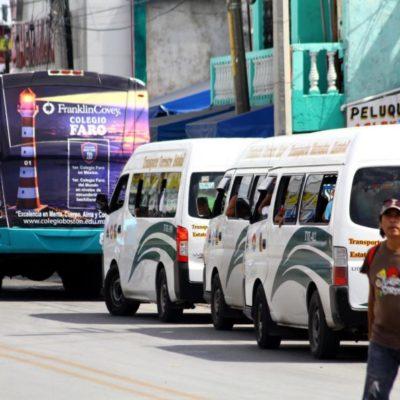 """""""Congreso tendrá que ratificar concesiones de transporte público en Benito Juárez"""", señala Fernando Zelaya"""