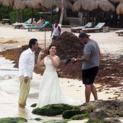 Acepta Marisol Vanegas, titular de Sedetur, que hay una disminución del tiempo de estancia de turistas en QR por causa del sargazo
