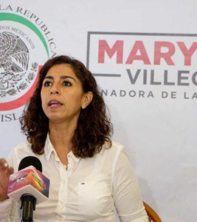 """Marybel Villegas anuncia el foro """"Escucha Quintana Roo"""" en Cancún, para atender a las víctimas de violencia de todo el estado"""