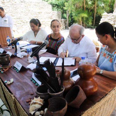 El INAH y Grupo Xcaret firman convenio por diez años para asegurar la accesibilidad de la población a la zona arqueológica del parque