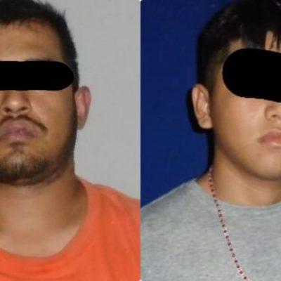 Confirman detención de dos presuntos sicarios por la ejecución en la Región 107 de Cancún