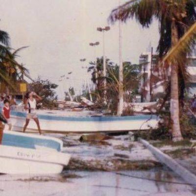 A 30 años del huracán Gilberto, expertos afirman que estos fenómenos hidrometeorológicos son guías en la construcción porque se va mejorando la infraestructura a través de la experiencia en esos casos
